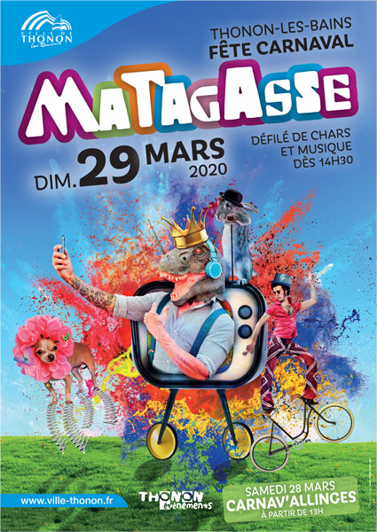 Carnaval de la Matagasse Thonon les bains