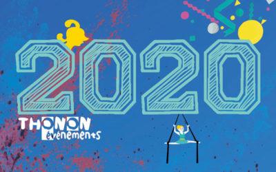 Les dates de la saison 2020…